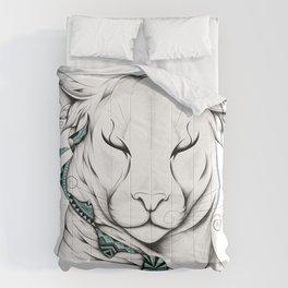 Poetic Cougar Comforters