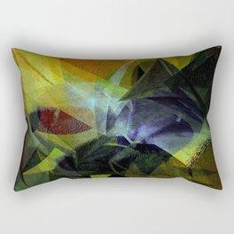 Modern - contemporary art Rectangular Pillow
