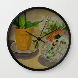 Two Bases Wall Clock