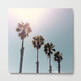 Four Palms Metal Print