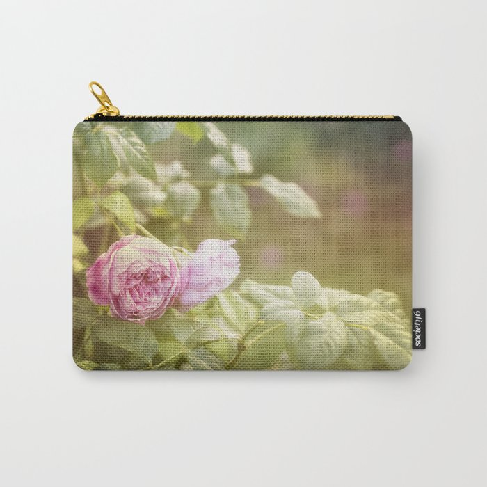 Rose in late sunlight Carry-All Pouch
