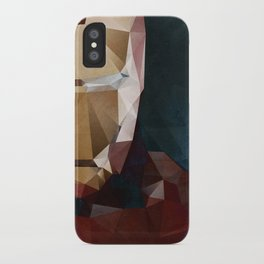 Iron Man Profile iPhone Case