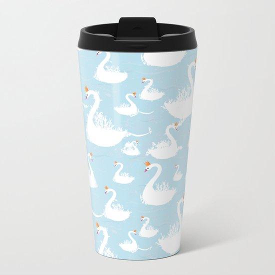 swans Metal Travel Mug