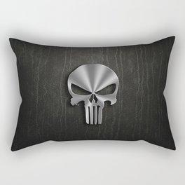 IRON SKULL Rectangular Pillow