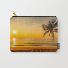 Beautiful Sunset over the Beach Carry-All Pouch