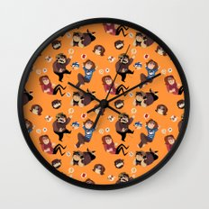 Game Grumps Pattern Wall Clock