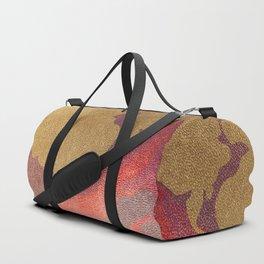 circular poster Duffle Bag