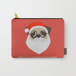 Merry Puggin Christmas Carry-All Pouch