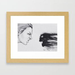 Exposure Therapy Framed Art Print