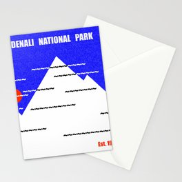 Denali National Park Stationery Cards