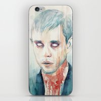 glass iPhone & iPod Skins featuring Glass by Tillith