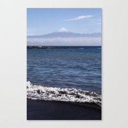 Mount Teide landscape Canvas Print
