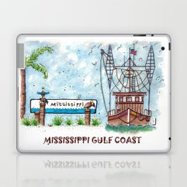 Mississippi Gulf Coast Laptop & iPad Skin