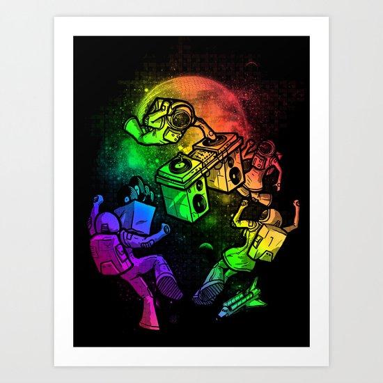 Space Disco Art Print