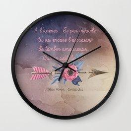 LILY & ATLAS . COLLEN HOOVER Wall Clock