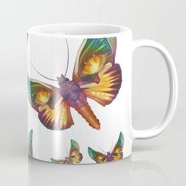 """Fantasy multicolored butterflies"" Coffee Mug"