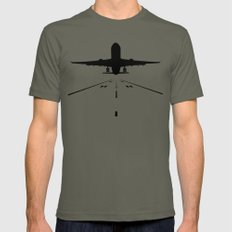 Takeoff LARGE Mens Fitted Tee Lieutenant