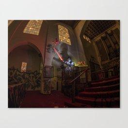 """Welcome To """"The Force Church""""  Canvas Print"""