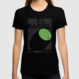 El Barril Green T-shirt