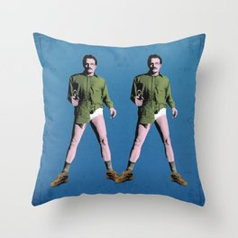 Double Walt Throw Pillow