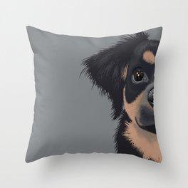 Mila the Carlin Pinscher Throw Pillow