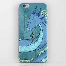 Sea Serpent Dragon iPhone Skin