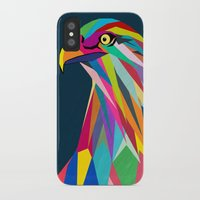 eagle iPhone & iPod Cases featuring Eagle by mark ashkenazi