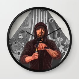 The Show (GREY) Wall Clock