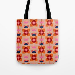 Retro floral pattern no4 Tote Bag
