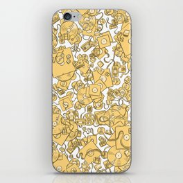 Technology! - Yellow iPhone Skin