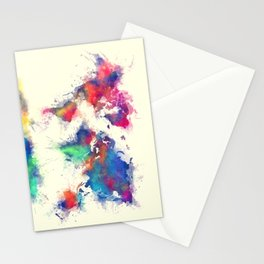 world map 105 #worldmap #map Stationery Cards