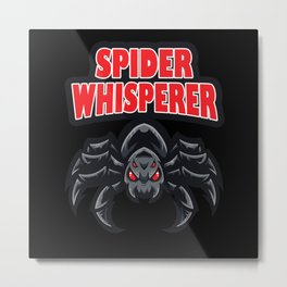 Spider Whisperer Metal Print