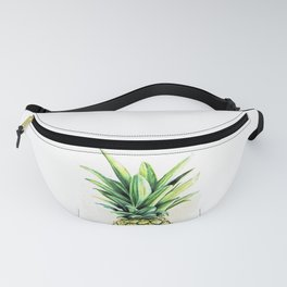 Pineapple Crown in Colored Pencil #2 Fanny Pack