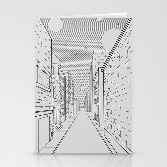 Cosmos City Stationery Cards
