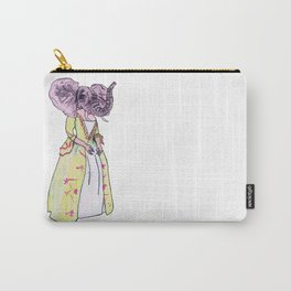 Madame Elephant Carry-All Pouch