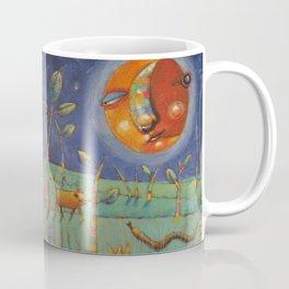 Thundersongs Of The Brilliant Beasts (Moon) Coffee Mug