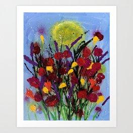 Field of Flowers Art Print