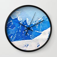 alaska Wall Clocks featuring Alaska by Acacia Alaska