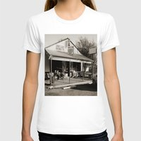 bar T-shirts featuring Milk Bar by SwanniePhotoArt
