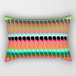 Happy Bright Simple Stripe Rectangular Pillow