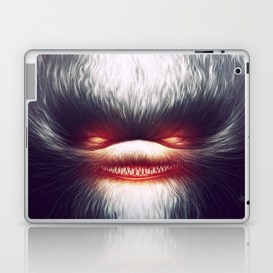 Furry Smile Laptop & iPad Skin