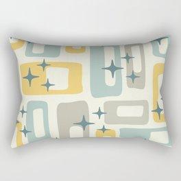 Mid Century Modern Geometric Abstract 132 Rectangular Pillow