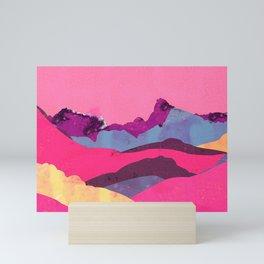 Candy Mountain Mini Art Print
