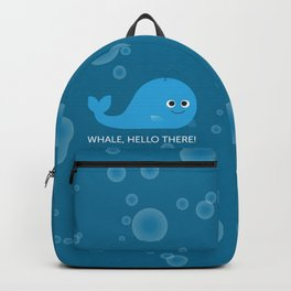 Whale Hello There! Backpack