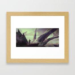 ALIEN PLANET Framed Art Print