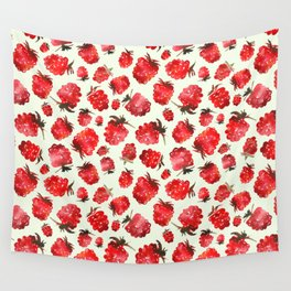 Raspberry vibes Wall Tapestry