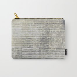 Vintage Grey Carry-All Pouch