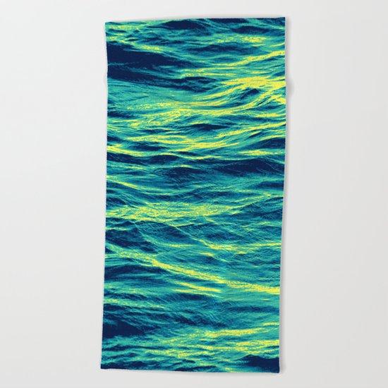 OVER THE OCEAN Beach Towel