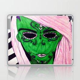 Pink Sugar Skull Laptop & iPad Skin