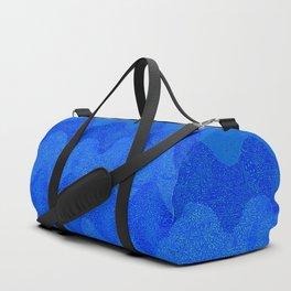 Under the Influence (Marimekko Curves) Feeling Blue Duffle Bag